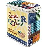 Nostalgic-Art Super Color Detergent Vorratsdose L, bunt, 10x14x20 cm
