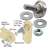 Platte River 124094, 8-Pack,'Hardware, Furniture, Miscellaneous', Glider/Rocker Bearing Assembly Only