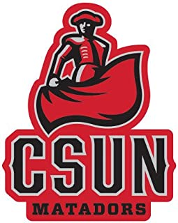 CollegeFanGear Cal State Northridge Small Decal 'CSUN Matador'
