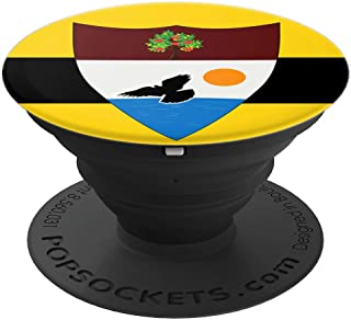 Coat Of Arms Liberland Flag Pop Mount Socket Seal Emblem - PopSockets Grip and Stand for Phones and Tablets