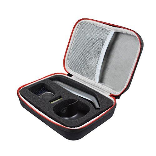 Voyage Stockage Porter Étui Housse pour OneBlade QP6510/30 QP6520/30 QP6620/30 Hybrid trimmer & shaver by AONKE