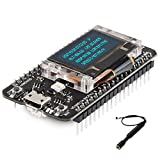 MakerFocus LoRa GPS Module LoRaWAN 868 915mHz Development Board LoRa Kit Ultra Low Power Design CP2102 SX1262 ASR6502 Chip with 0.96 inch OLED Display and Antenna for Arduino and Intelligent Scene