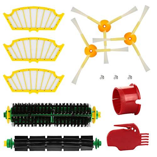 Energup Kit Ersatzteile für Roomba 500 Serie 505 520 500 510 530 531 535 545 550 552 575 580 581 595 Bürsten