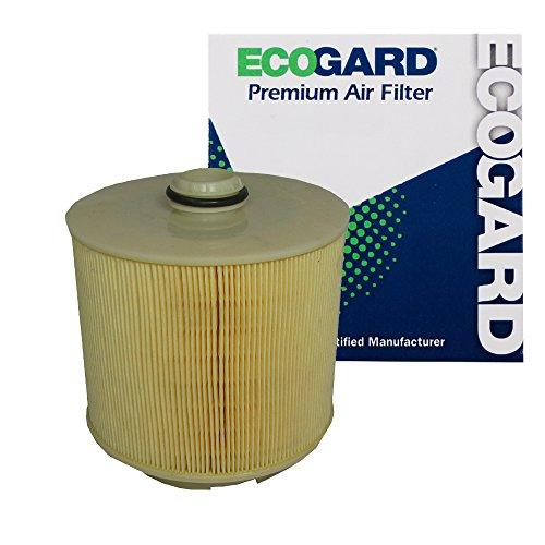 ECOGARD XA5785 Premium Engine Air Filter Fits Audi A6 Quattro 3.2L 2005-2008, A6 Quattro 3.0L 2009-2011, A6 Quattro 4.2L 2005-2011, A6 3.2L 2006-2011