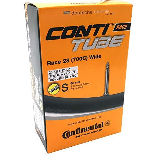 Continental Race 28 700 x 25-32c Bike Inner Tube - Presta 60mm Long Valve