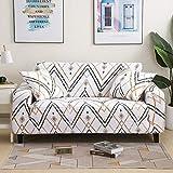 Fundas de sofá suaves y cómodas para sala de estar, fundas elásticas para sofá de esquina, A22, 3 plazas