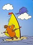 Poster+ Die Sendung mit der Maus: Windsurfing, Plakat [50 x