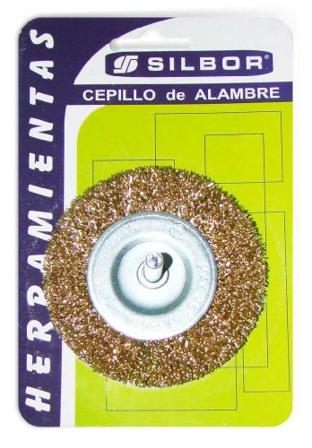 Silbor-Spazzola metallica mod. PL75