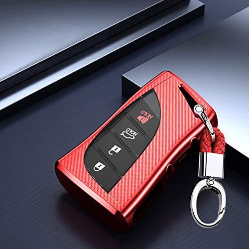 ontto - Funda para llave de coche para Lexus ES UX LS LC Lexus F Sport ES200 UX250 LS350 UX200 LS350