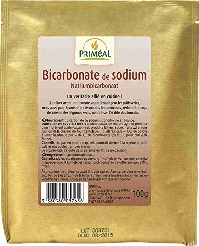 PRIMÉAL Bicarbonate de Sodium 100 g