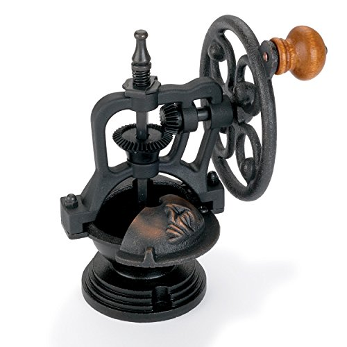 WoodRiver Antique Style Side Crank Coffee Grinder Kit Mechanism Cast Bronzed