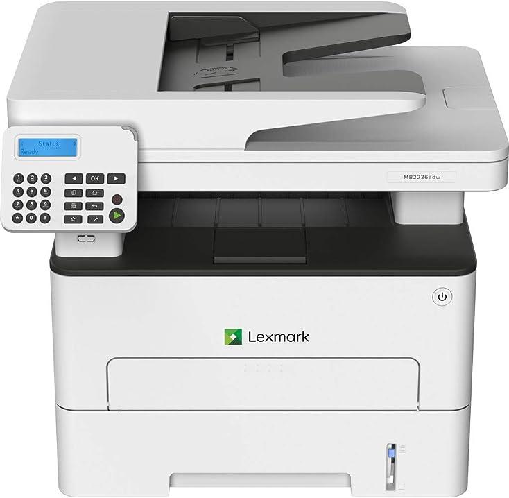 Fotocopiatrice stampante multifunzione laser 34 ppm 1200 x 1200 dpi a4 wi-fi lexmark mb2236adw 18M0410
