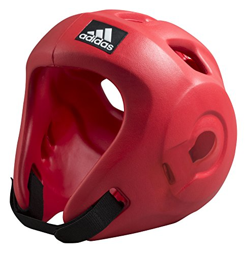 adidas Casco Protector Adizero Moulded Headguard, Rojo, M,
