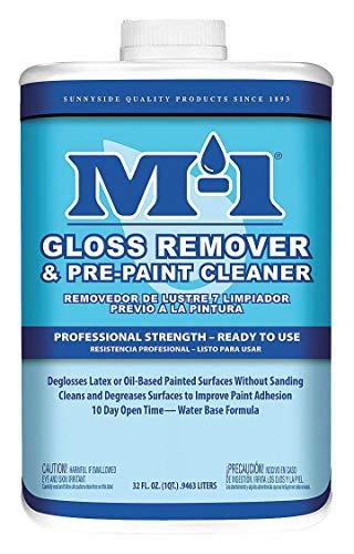 Paint Deglosser, Pre-Paint Cleaner, 1 qt.