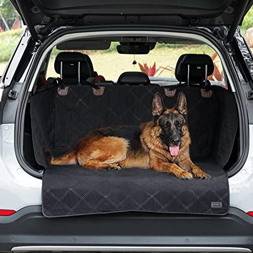 Petsfit Kofferraumschutz für Hund, wasserdichte & Kratzfeste Kofferraumdecke Hundedecke Auto Kofferraumschutzmatte mit Seitenschutz, Universal Autoschondecke für Hunde