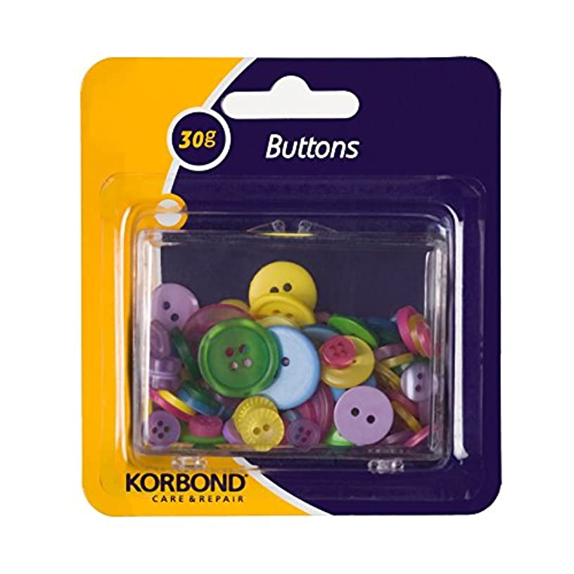 Pack Of Multi-coloured Craft Buttons