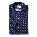 (フィナモレ) FINAMORE ワイドカラーシャツ 41サイズ LUIGI TRONTO ルイジ トロント [並行輸入品]