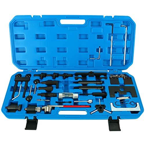FreeTec Motoreinstell Werkzeug Arretierwerkzeug Zahnriemen Werkzeug Satz Motor-Einstellwerkzeug für...