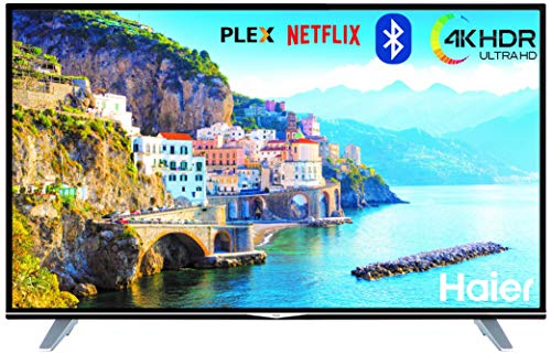 Haier U49H7000 49' 4K Ultra HD HDR Smart TV WiFi - Televisor (Netlfix 4K Ultra...