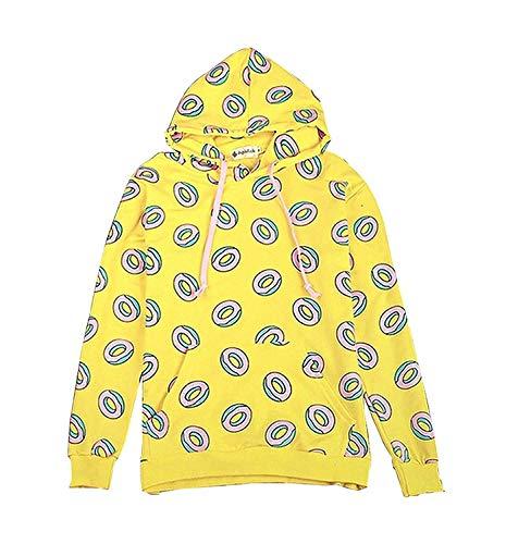 MIFIN GOT7 Den gleichen Stil Mark Jackson Youngjae JB Pullover Hoodie Donut Krapfen Sweatshirt (M)