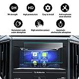 YEE PIN Car Navigation Tempered Glass Screen Protector for 2018 Subaru Crosstrek Starlink 6.5Inch, Anti-Scratch High Clarity Anti-Explosion