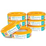 Munchkin Arm & Hammer Diaper Pail Refill Rings, 2,176 Count, 8 Pack (272 Count each)