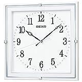 セイコー クロック 掛け時計 電波 アナログ 白 パール KX232W SEIKO KX232W