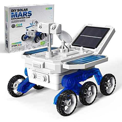 Selieve STEM Space Toys Projects for Kids Ages 8-12+, DIY Solar Power Mars Rover Car Toys, Science Experiment Robot Engineering Building Kits, Educational Birthday Gifts for 6-14 Year Old Boys Girls