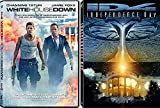 Independence Day and White House Down: Action Movie DVD Collection