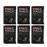 BESPORTBLE - 6 pezzi colorati in polvere di faggio fiamme magiche vibranti magici arcobaleno, fiamma, cambio di colore, campeggio, all'aria aperta, polvere di fuoco di joia da 10 g