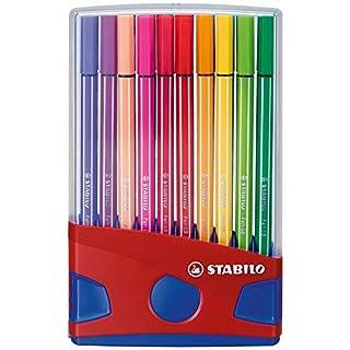 Premium Felt Tip Pen - STABILO Pen 68 ColorParade 20 assorted colours (B000OZQAYG) | Amazon price tracker / tracking, Amazon price history charts, Amazon price watches, Amazon price drop alerts