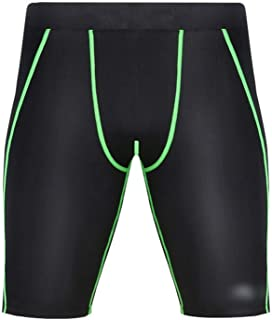 LUKEEXIN Men's Ports Performance Active Compression Cool Dry Baselayer Shorts