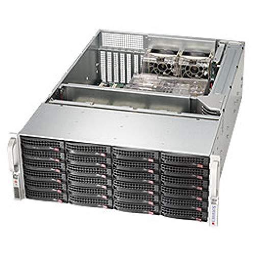Supermicro SuperChassis 4U Rackmount Server Chassis CSE-846BE16-R920B Black