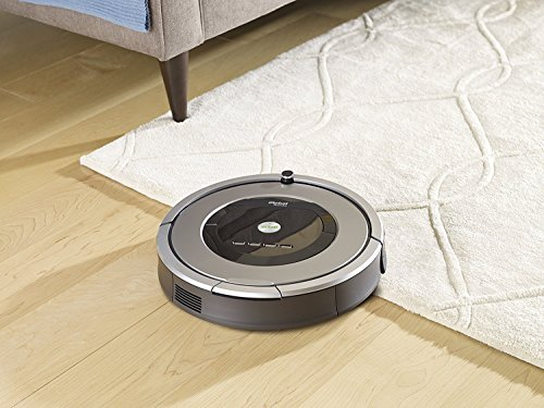 iRobot Roomba 860 Robotic Vacuum with Virtual Wall Barrier and Scheduling Feature (Renewed)