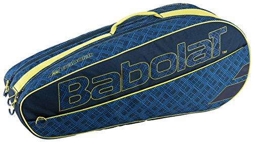 Babolat X 6 Club Fundas para Raquetas de Tenis, Unisex Adulto, Azul/Amarillo, Talla Única