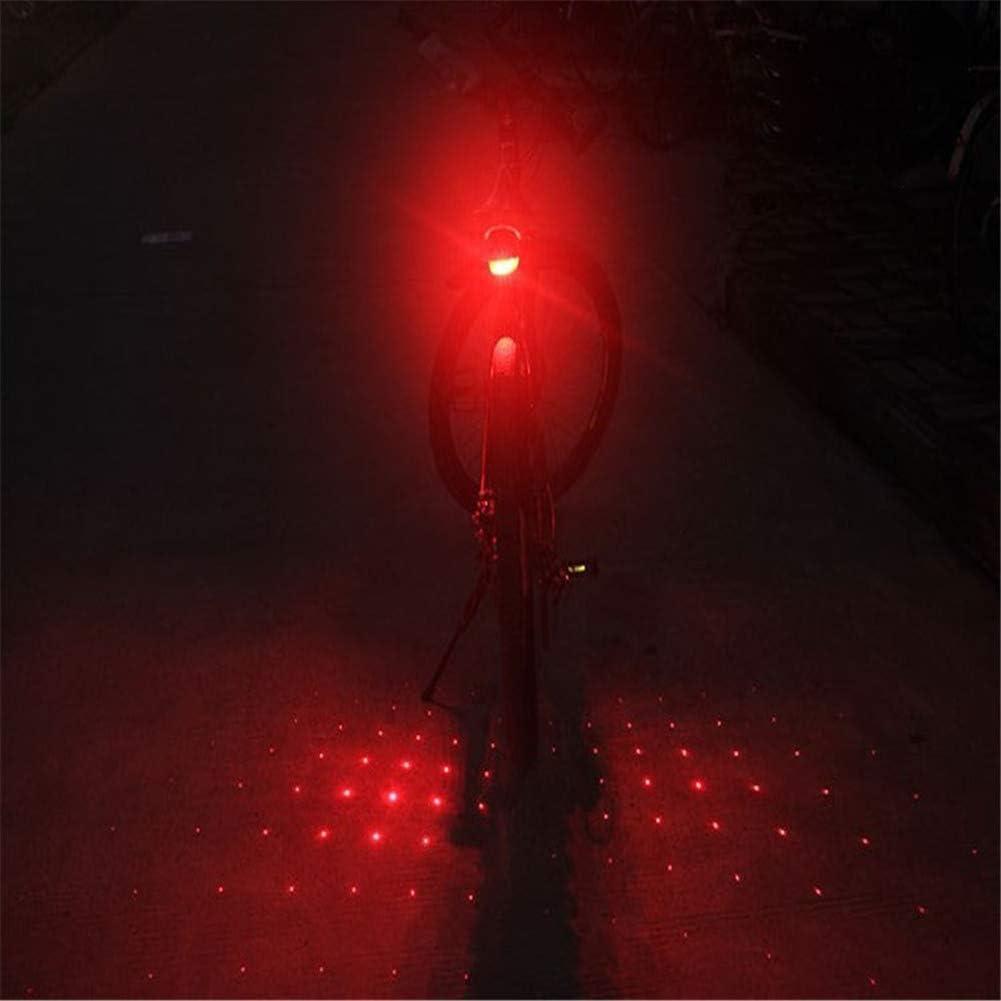 Lampe De S/écurit/é /à V/élo Moto /à Del Feux Arri/ère /à lArri/ère De La Bicyclette Lampe dAvertissement /Équipement R/éfl/échissant Clip pour Lampe Super Lumineuse sur La Lampe De Nuit D