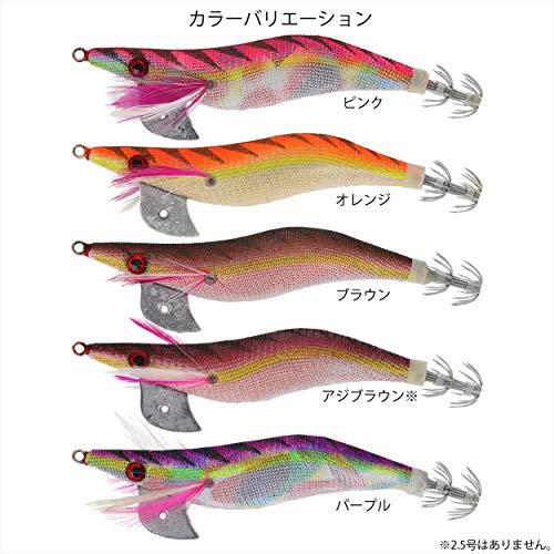 TAKAMIYA(タカミヤ)ルアーエギエギボンバーオレンジ3.5号