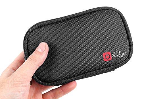 DURAGADGET Etui mémoire de Forme Noir pour Dictaphone numérique Sony ICD-TX 650B, ELEGIANT 8GB - résistant à l'eau