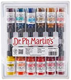 Dr. Ph. Martin's 400263-XXX Hydrus Fine Art Watercolor Bottles, 0.5 oz, Set of 12 (Set 3)