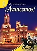 Holt McDougal Avancemos! Level 2: dos (Spanish and English Edition)