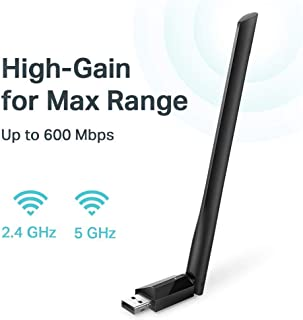 TP-Link USB Wifi Adapter for PC AC600Mbps Wireless Network Adapter for Desktop with..