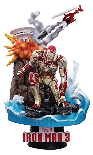 Beast Kingdom- Marvel Diorama Iron Man Mark XLII, Multicolor (BKDDS-016SP)