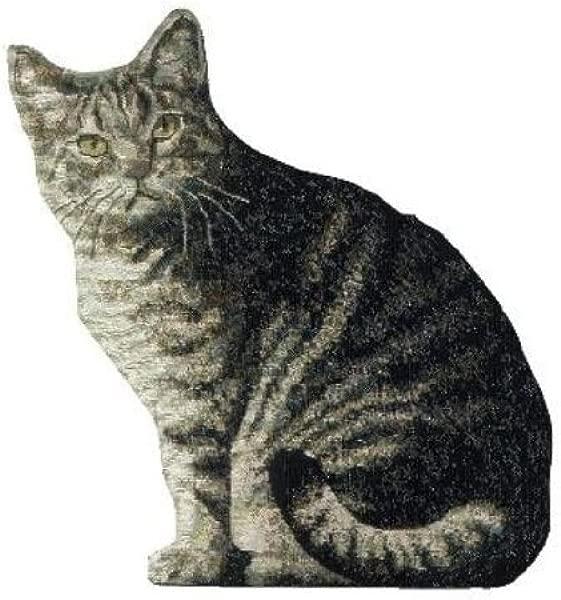 Manual Cat Shaped Pillow 11 X 16 Inch