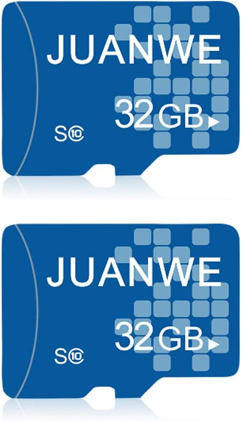 JUANWE 2 Pack 32GB Memory Card, Memory Card 32GB TF Card High-Speed Card for Smartphone/Bluetooth Speaker/Tablet/PC/Camera (2 Pack)