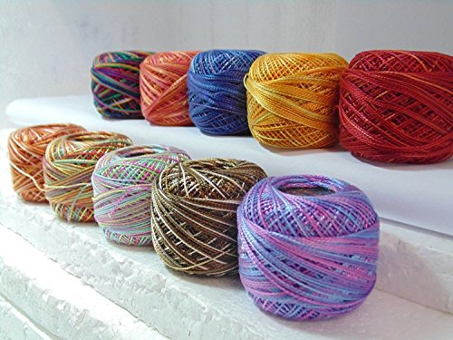 Anchor perle coton multicolore theads Taille 5