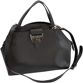 Nicoli Italian Leather Satchel Womens Handbag