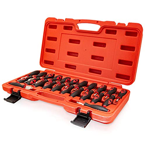BITUXX 23 TLG - Juego de herramientas de desbloqueo, universal, ISO, para coche, conector de salida para coche