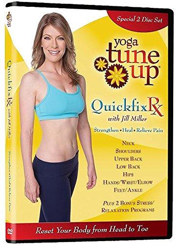 Yoga Tune Up Quickfix Rx Upper & Lower Body DVD