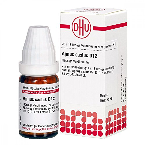 AGNUS CASTUS D 12 Dilution 20 ml