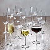Villeroy & Boch Ovid Weißweingläser, 4er-Set, 380 ml, Kristallglas, Klar - 2